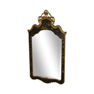 """Friedman Brothers Chinoiserie Painted """"The Canton"""" Wall Mirror For Sale"""
