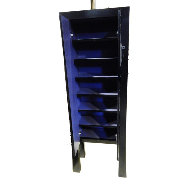 Black Lacquer Armoire - Image 6 of 10