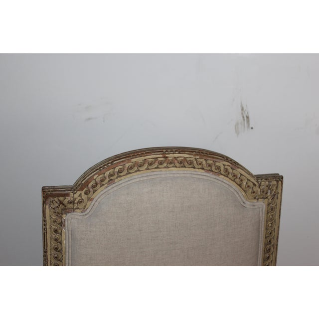 Louis XVI Style Accent Chair - Image 4 of 6