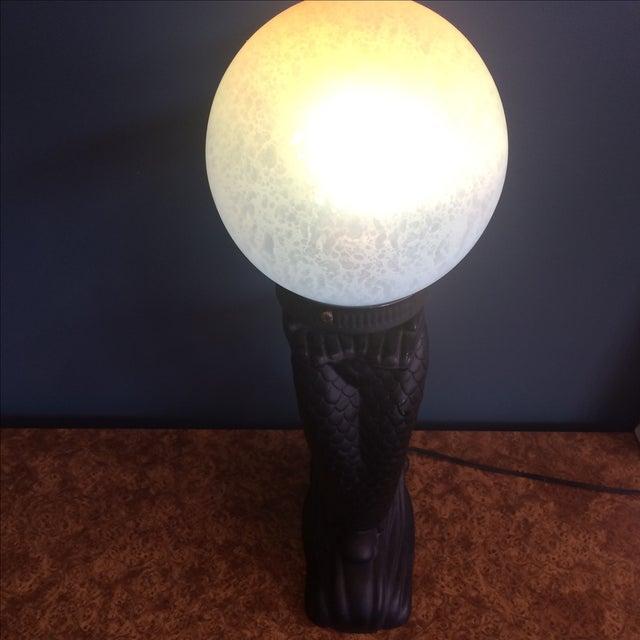 Mermaid Lamp For Sale - Image 4 of 8