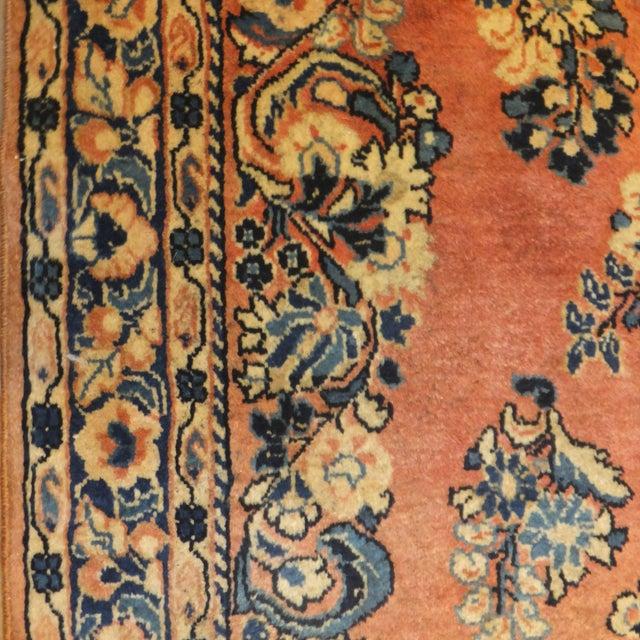 """Leon Banilivi Antique Persian Sarouk 6'6"""" X 2'7"""" - Image 4 of 4"""