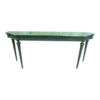 1930s French Style Long Console Table For Sale
