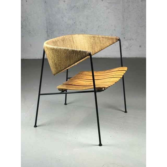 Exceptional 1950's Mid Century Modern Lounge Chair by Arthur Umanoff for Shaver Howard & Raymor For Sale - Image 12 of 13