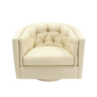 Barrel Back Barrel Back Wing Chairs For Sale