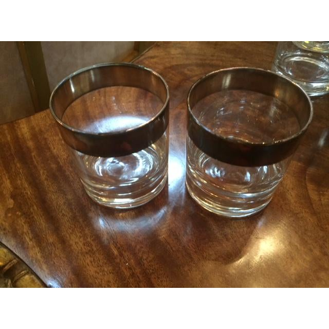 1950s Vintage Dorothy Thorpe Scotch Glasses- Set of 14 For Sale - Image 5 of 8