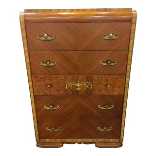 Art Deo Chest of Drawers For Sale