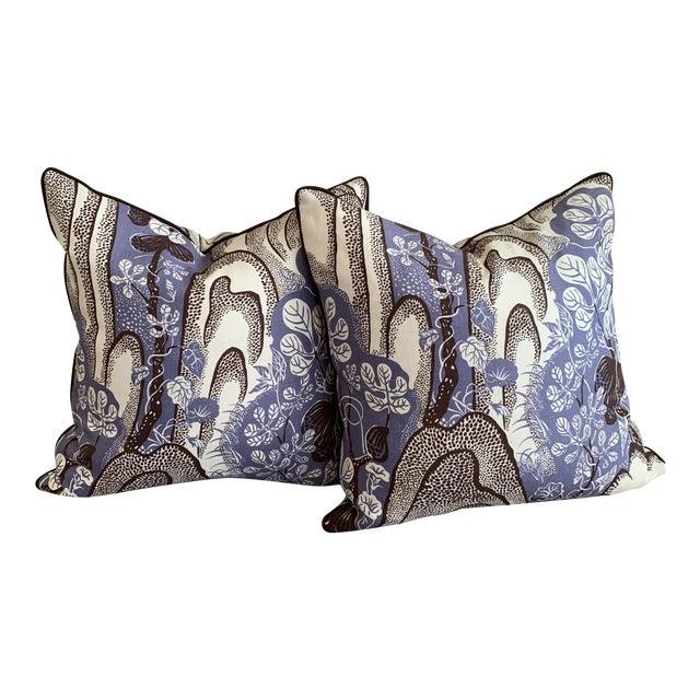 Josef Frank Throw Pillows- A Pair For Sale