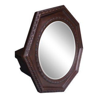Ralph Lauren Octagonal Large Mirror and Bevelled Glass For Sale