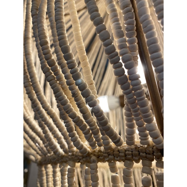 Metal Made Goods CoCo Bead Aida Chandelier For Sale - Image 7 of 10