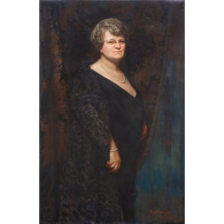 Richard Langtry Partington Florence Foster Jenkins, 1923 Amateur Soprano by Richard Langtry Partington 1923 For Sale