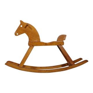 1960s Vintage Kay Bojesen Rocking Horse For Sale