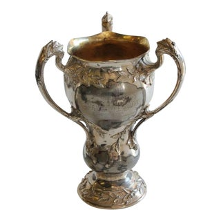 1910's Vintage Indoor Rifle League Loving Cup For Sale
