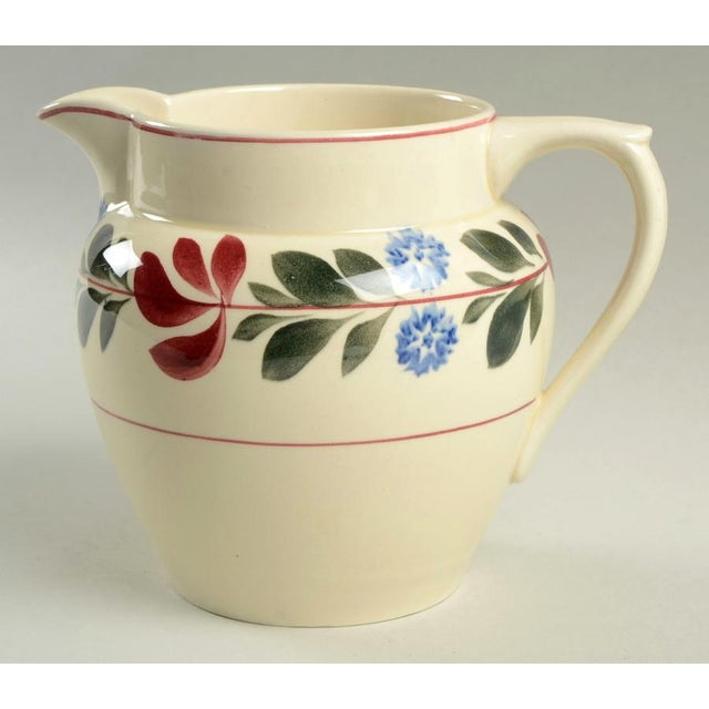 Red Adams China Alcazar 40 Oz Pitcher For Sale - Image 8 of 8