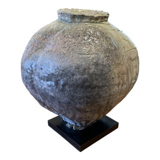 Japanese Contemporary Studio Art Pottery Vessel For Sale