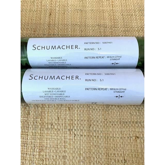 Schumacher Schumacher Celerie Kemble Tortoise Amazon Wallpaper For Sale - Image 4 of 5