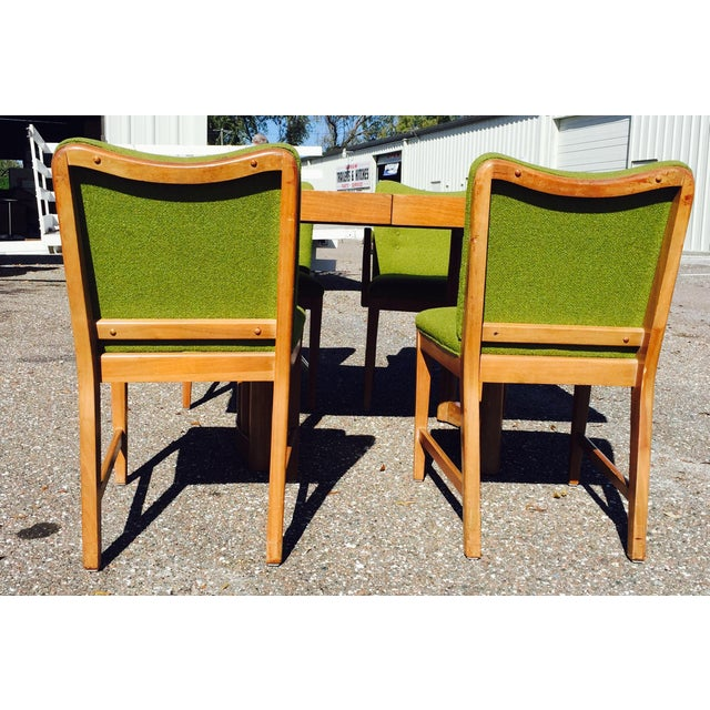 Mid-Century Modern Dining Set Attributed to Paul Laszlo For Sale - Image 3 of 10