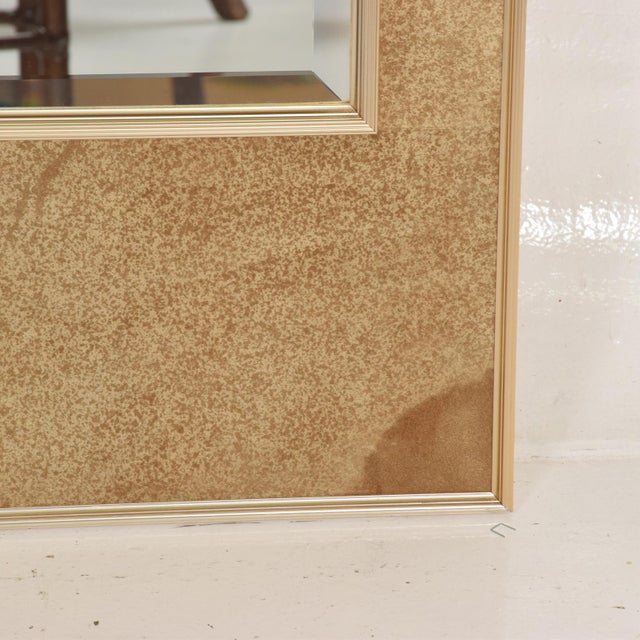 1970s La Barge Mid-Century Modern Wall Mirror For Sale - Image 5 of 10