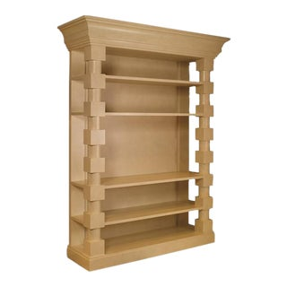 Mary McDonald for Chaddock Euclid Block Bookcase For Sale