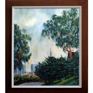 'Golden Gate Park' Original Painting For Sale
