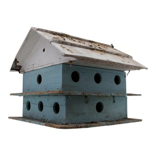 Monumental Purple Martin Bird House Garden Decor For Sale
