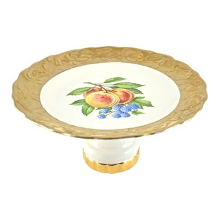 Gold Encrusted Pedestal Cake Stand