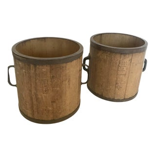 19th Century Japanese Rice Containers For Sale