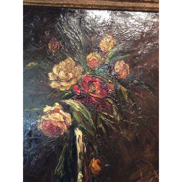 Pair of beautiful original paintings by the very talented French artist Charles Henri Franzini d'Issoncourt who won an...