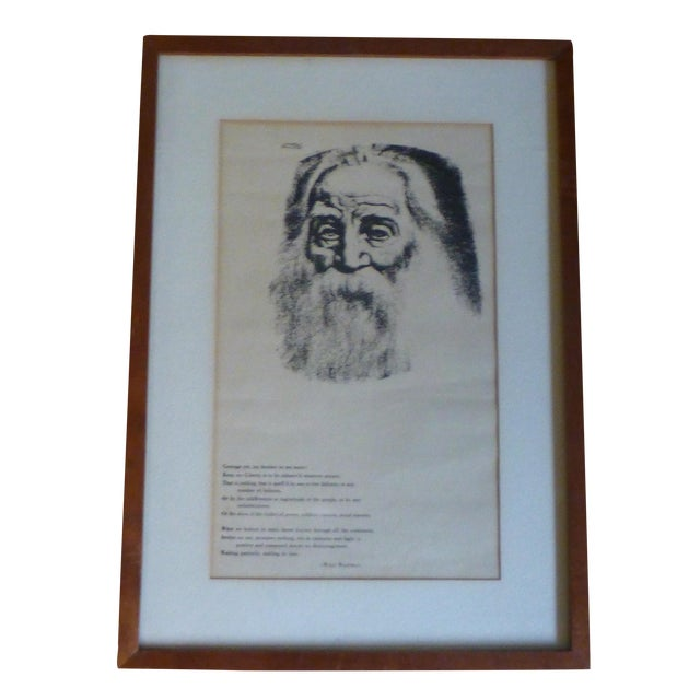 Walt Whitman's Leaves of Grass Print by H. Gellert - Image 1 of 8