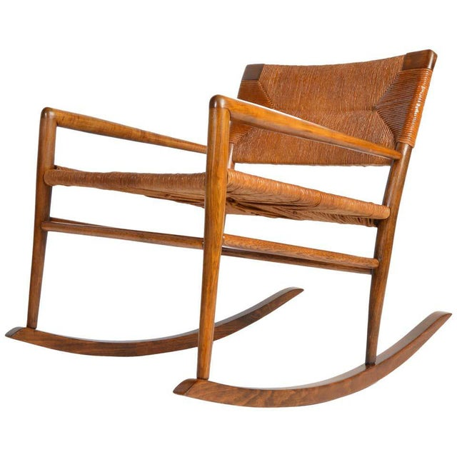 Custom Mel Smilow Rocker-One of a Handful Produced by Smilow Designs, 1956 For Sale - Image 9 of 9