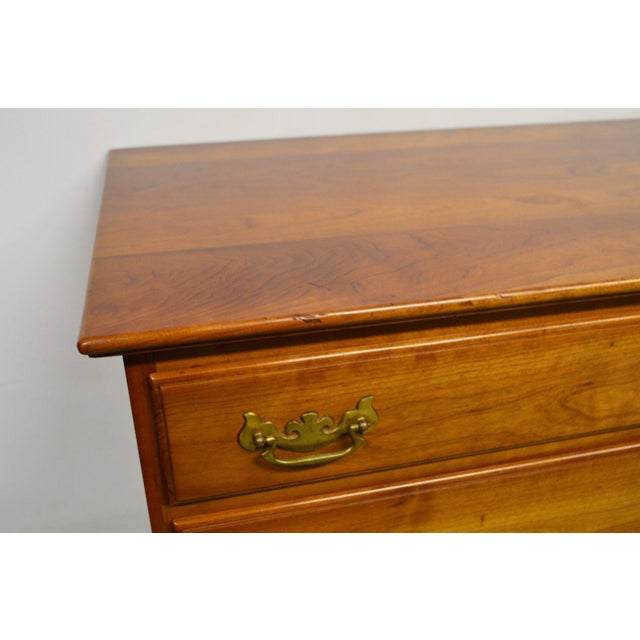Stickley Stickley Syracuse Solid Cherry Dresser For Sale - Image 4 of 11