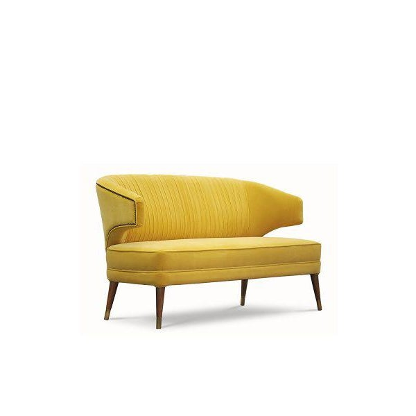 Not Yet Made - Made To Order Covet Paris Ibis 2 Seat Sofa For Sale - Image 5 of 5