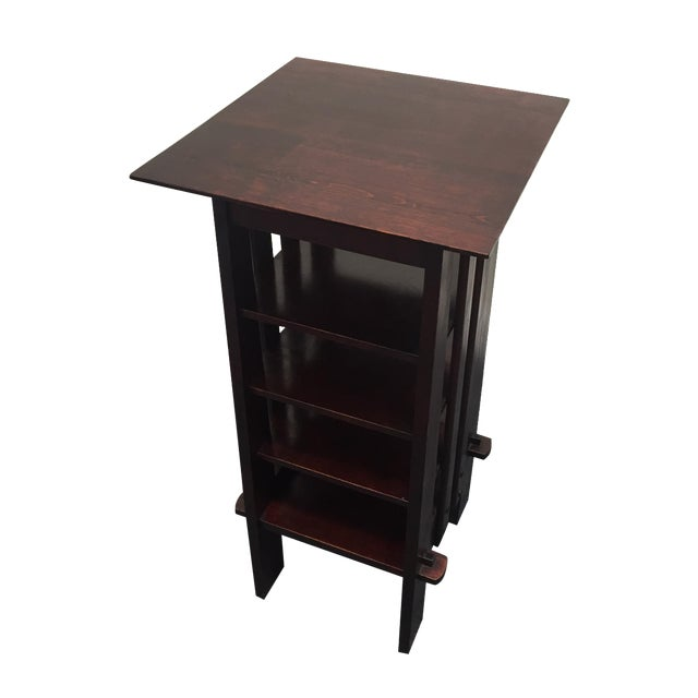Michigan Chair Company Magazine Stand Side Table - Image 1 of 9