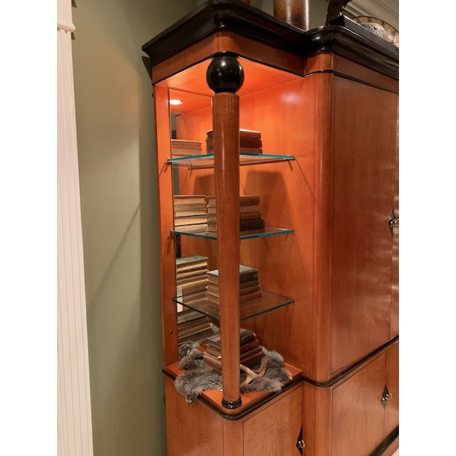 Mount Airy Furniture Company National Mount Airy Biedermeier Tv Armoire For Sale - Image 4 of 7