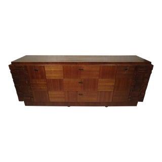 Long Midcentury Sideboard Dresser For Sale