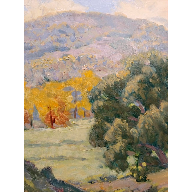 1990s Rodolfo Rivademar - From the WIlderness South of the 71 Fwy- California Oil Painting For Sale - Image 5 of 9