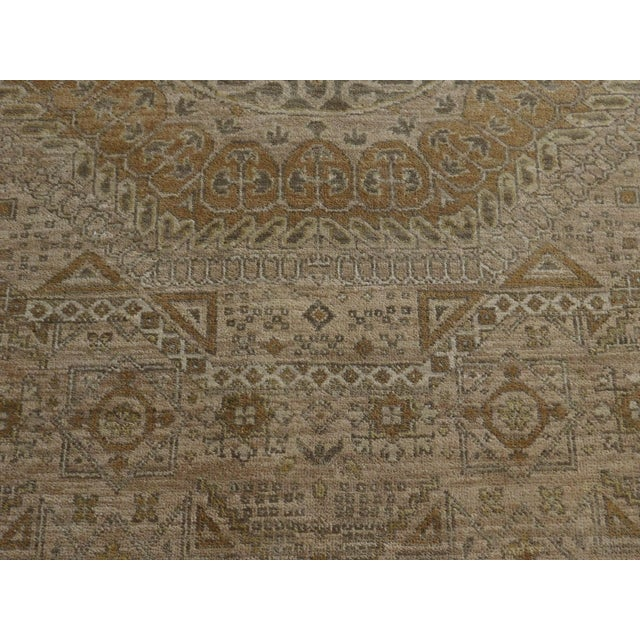 "Mamluk Hand-Knotted Luxury Rug - 7'10"" x 7'11"" For Sale - Image 10 of 10"