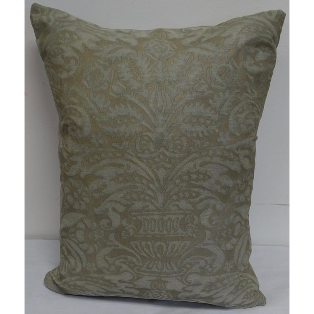 Vintage Fortuny Pillow - Image 2 of 3