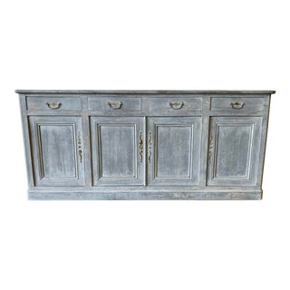 French Antique Sideboard Credenza - 19th C For Sale