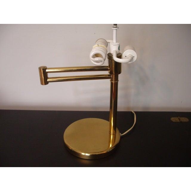 1960s Mid Century Modern Walter Von Nessen for Nessen Lighting Swing Arm Desk Lamp For Sale - Image 10 of 12