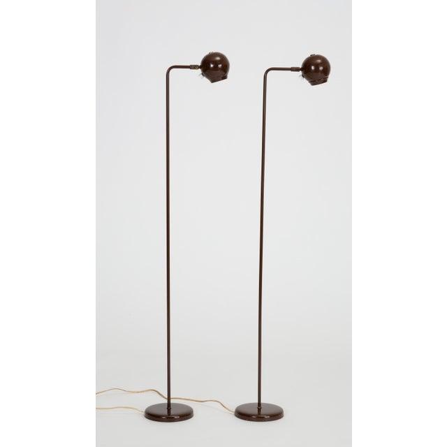 Single Eyeball Floor Lamp by Robert Sonneman for George Kovacs For Sale - Image 10 of 10