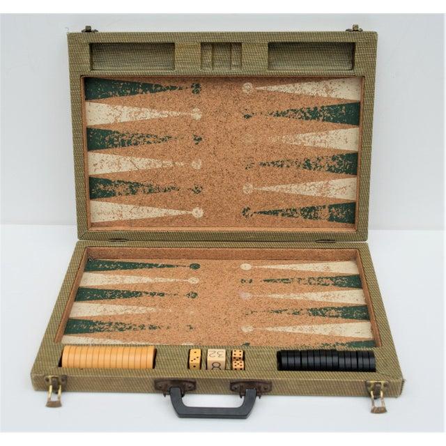 Vintage Backgammon Set For Sale - Image 13 of 13
