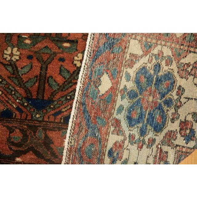 """Blue Vintage Baktiari Carpet - 7'1"""" X 9'11"""" For Sale - Image 8 of 12"""