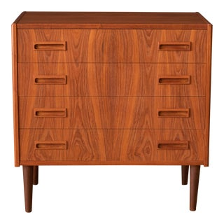 1960s Vintage Danish Teak Chest by Borge Seindal For Sale