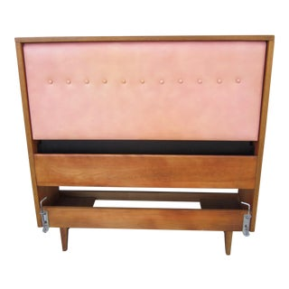 1940s Mid Century Modern George Nelson for Herman Miller Twin Primavera Headboard For Sale