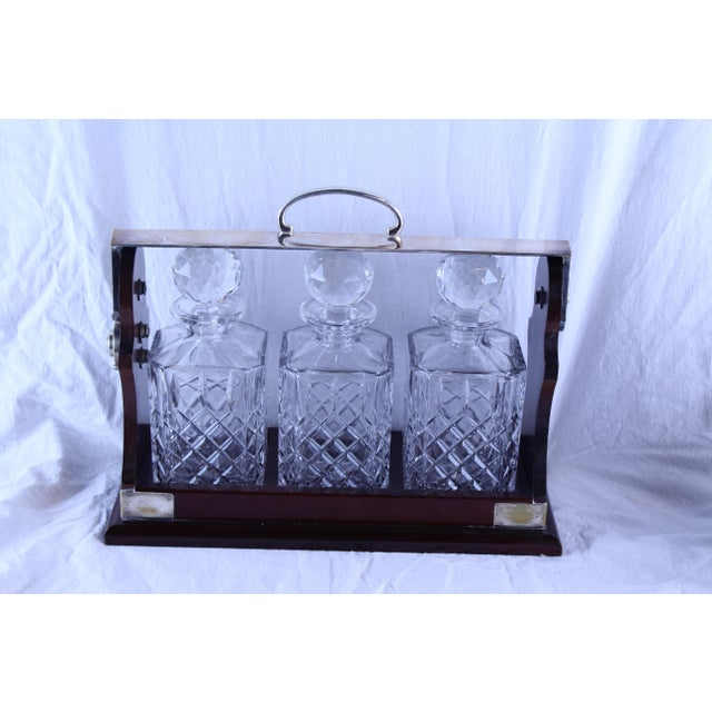 Art Deco Tantalus Decanter Set - 4 Pc. For Sale In New York - Image 6 of 6