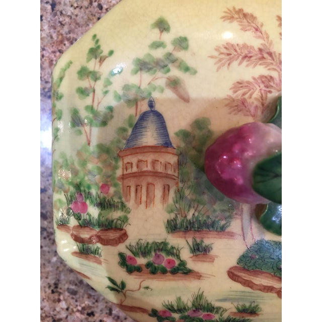 Ceramic Chinoiserie Lidded Box Uw 1897 For Sale - Image 7 of 13