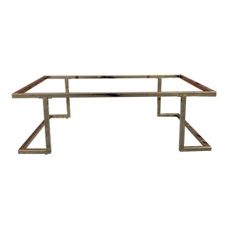 Brass Coffee Table Base For Sale