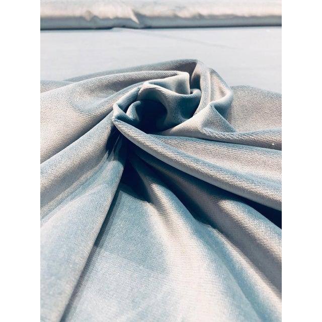 Kravet Kravet Design Versailles - E25006 Blue Designer Velvet Fabric ( 3 Yards) For Sale - Image 4 of 6