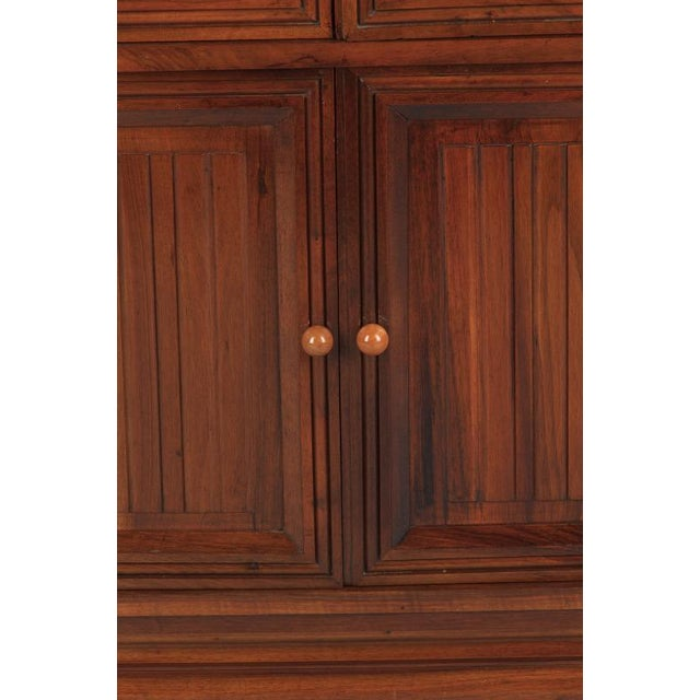 French Art Deco Walnut Vitrine/Display Cabinet - Image 10 of 11
