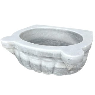 Antique Marble Turkish Hamam Sink For Sale